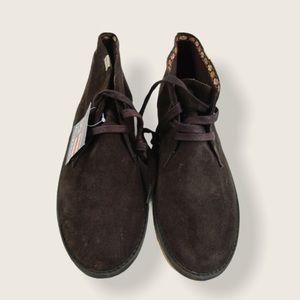 Phat Farm Men's Dark Brown Boots - size 12- NWT